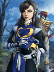 Chun-li Ranger by Rober2403