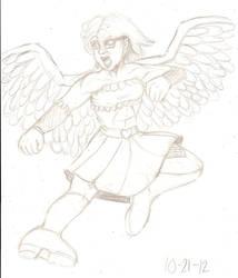 Lorelei Parker 2012 sketch by RocMegamanX