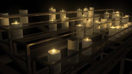 Candles by thunderkracker