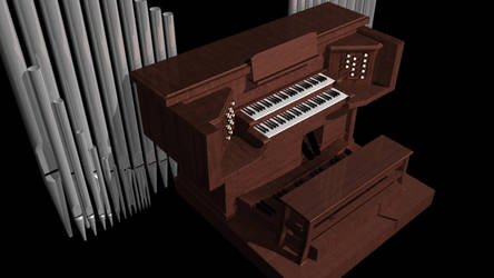 Pipe Organ by thunderkracker