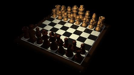 Chess Set by thunderkracker