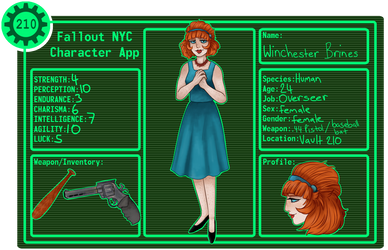 FNYC |LEADER : Winchester by NukaKid