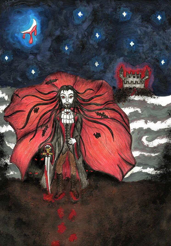 Dracula by Todeskuenstlerin