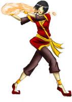 Firebender Outfit by ChibiKinesis