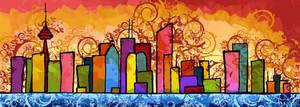 Toronto City Scape by mashalevene