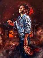 Bruce Campbell by Rick-Melton