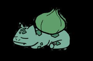 Sleepy Bulba by EvantheEevee