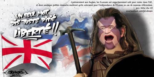 jerc-caricature-Mel-Gibson-vive-le-royaume-desuni- by jerc-tbm