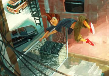 Fencejump! by Aranthulas