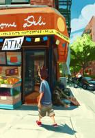 NYC deli by Aranthulas