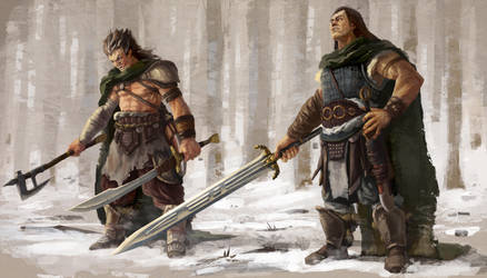 Tribesmen by Aranthulas