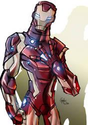 Iron Man by theSadSon