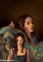 Angel and Faith cover, TPB 02 season 9 by StevenJamesMorris