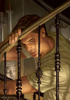 Angel and Faith cover season 9 issue 21 by StevenJamesMorris