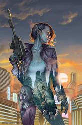 Stained cover 1 of 5 by StevenJamesMorris