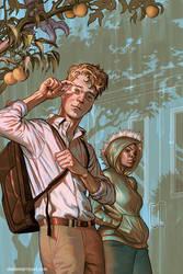 Giles issue #1 comic by StevenJamesMorris