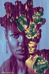 Giles #3 comic cover by StevenJamesMorris