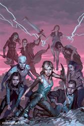 Buffy the Vampire Slayer cover S12 #4 by StevenJamesMorris