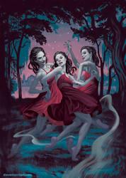 Drusilla cover #3 by StevenJamesMorris