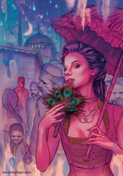 Unpubslished Drusilla cover #2 by StevenJamesMorris