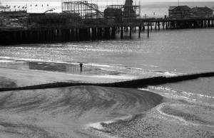 Photographing the pier by Nigel-Kell