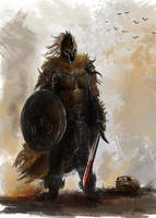 Concept Knight by luca540
