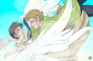Destiel is real by Morra-chan