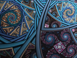 Splits-Ngon Spirals by AkuraPare