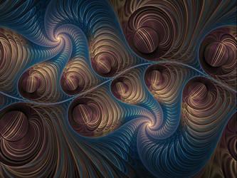 Spherical Bubble 3 - Split And Twist by AkuraPare