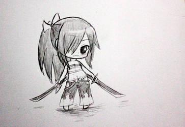 Drawing Chibi 8 Erza Scarlet Fairy Tail By Okuta129 On Deviantart