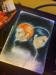 Kylo Ren and Hux by HylianHaru