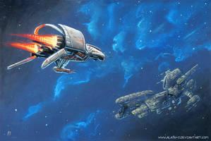 Space Rescue by ALA1N-J