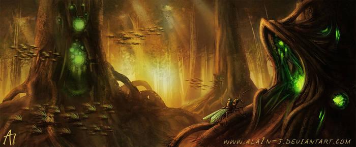 Mystical forest by ALA1N-J