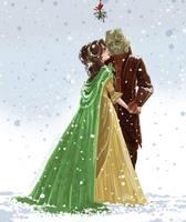 Under the mistletoe by snoprincess