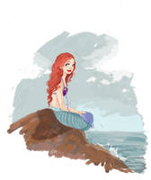Ariel Once Upon a Time by snoprincess