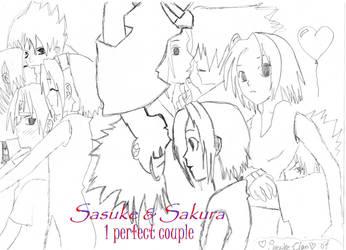 Sasuke X Sakura by Sasuke-Clan