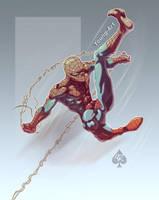 Back w. Spider-man Spade92 Col by ParisAlleyne
