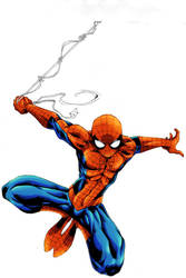 Classic Spidey new Colours by ParisAlleyne