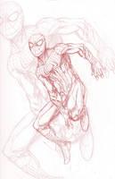 Amazing Spider-man Pencils by ParisAlleyne