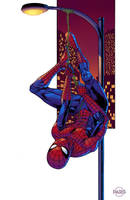 Spider-man Hanging commission by ParisAlleyne