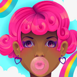 Bubblegum by marywinkler