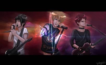 Naruto's RockBand: Resistance. by pollypwnz