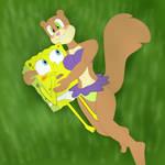 SpongeBob x Sandy Romantic Ageru You by CristianDarkraDx2496