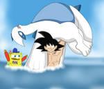 If SpongeBob was Goku's Coach by CristianDarkraDx2496