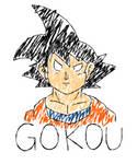 Gokou Freeza Drawing by CristianDarkraDx2496