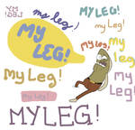FRED MY LEG SB 129 by CristianDarkraDx2496