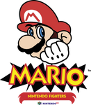 Mario Nintendo Fighters Logo by CristianDarkraDx2496
