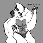 Lugia Sexy GameBoy Print by CristianDarkraDx2496