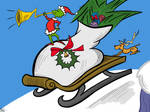 How the Grinch Stole Christmas: Sleigh Ride by gissele365