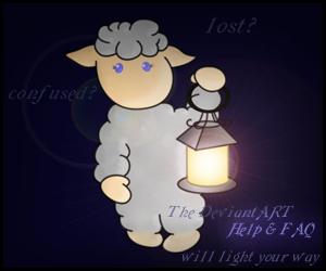Sheepish Help n' FAQ advert by stefko25